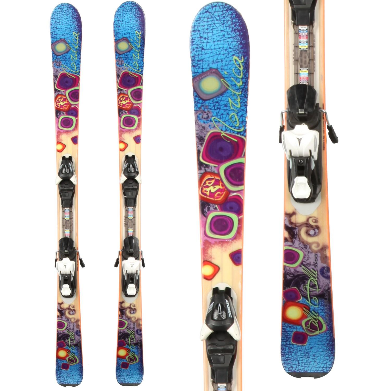 Nordica Belle To Belle Skis + Atomic XT 7 Demo Bindings