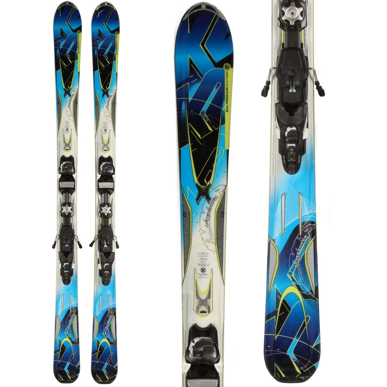 K2 Aftershock Skis + IPT 12 Demo Bindings