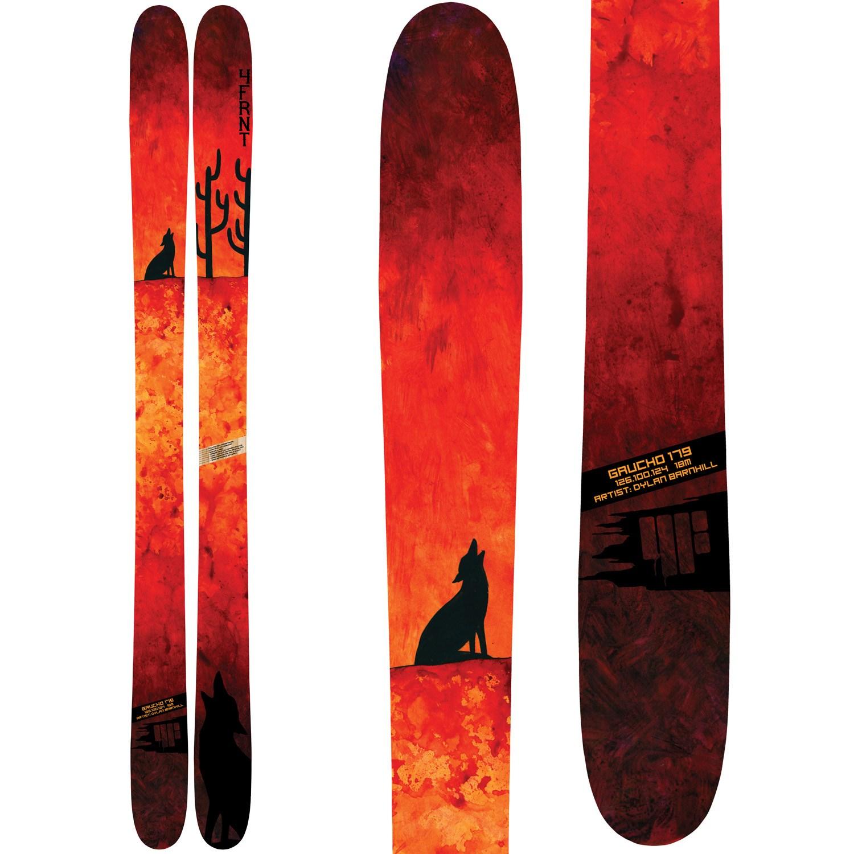 4FRNT Gaucho Skis + Attack 13 Ski Bindings 2015