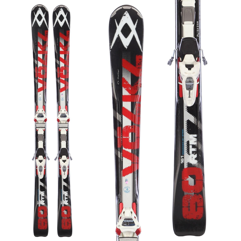 Volkl RTM 80 Skis + IPT WR 12 Bindings - Used 2012