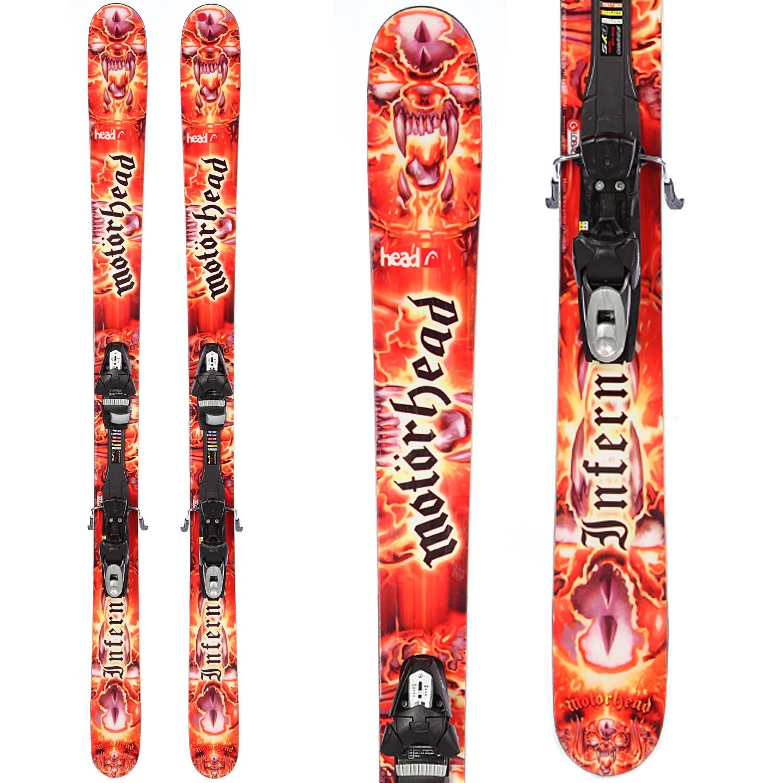 Head Inferno Skis + Tyrolia Sympro 120 Demo Bindings