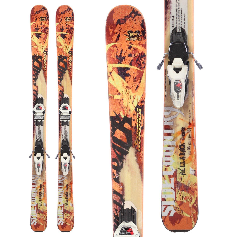 Nordica Hell & Back Skis + Marker Griffon Demo Bindings