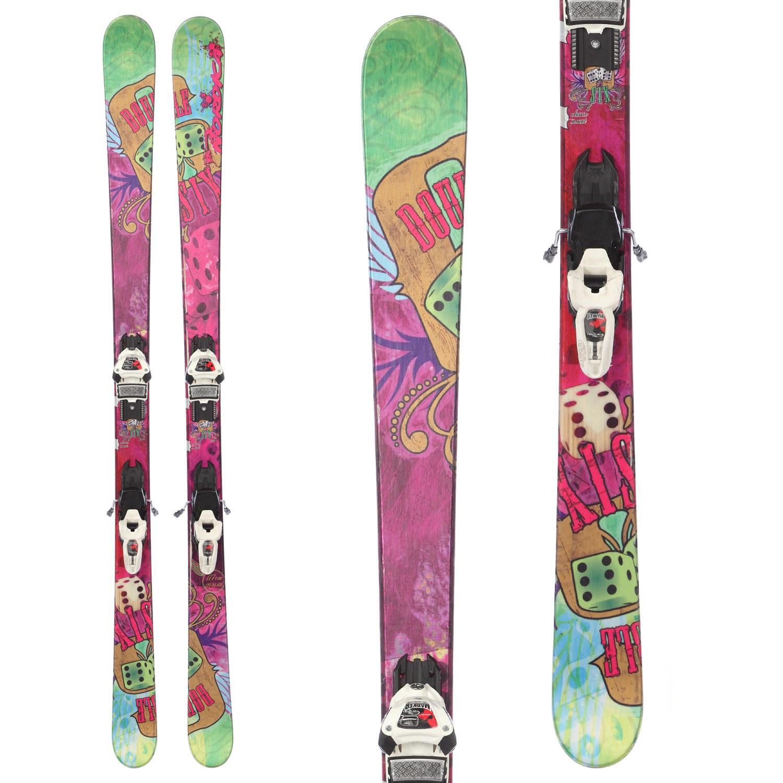 Nordica Double Six Skis + Marker Griffon Demo Bindings