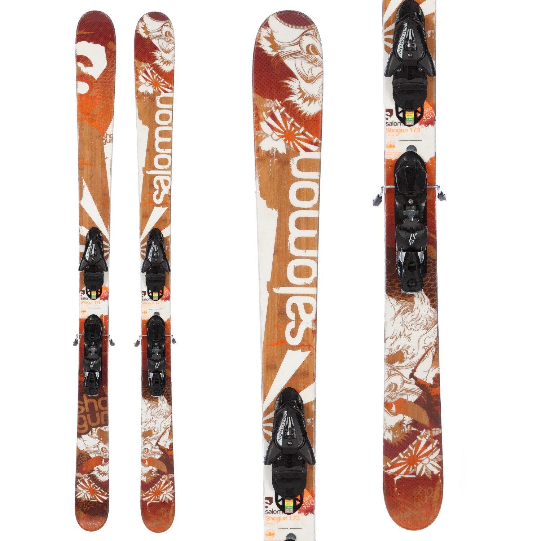 Salomon Shogun Skis + Z12 Demo Bindings - Used 2012