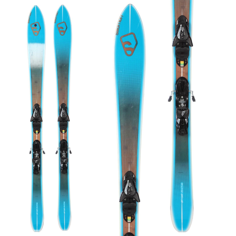 Salomon BBR 8.9 Skis + Z12 Demo Bindings - Used 2012