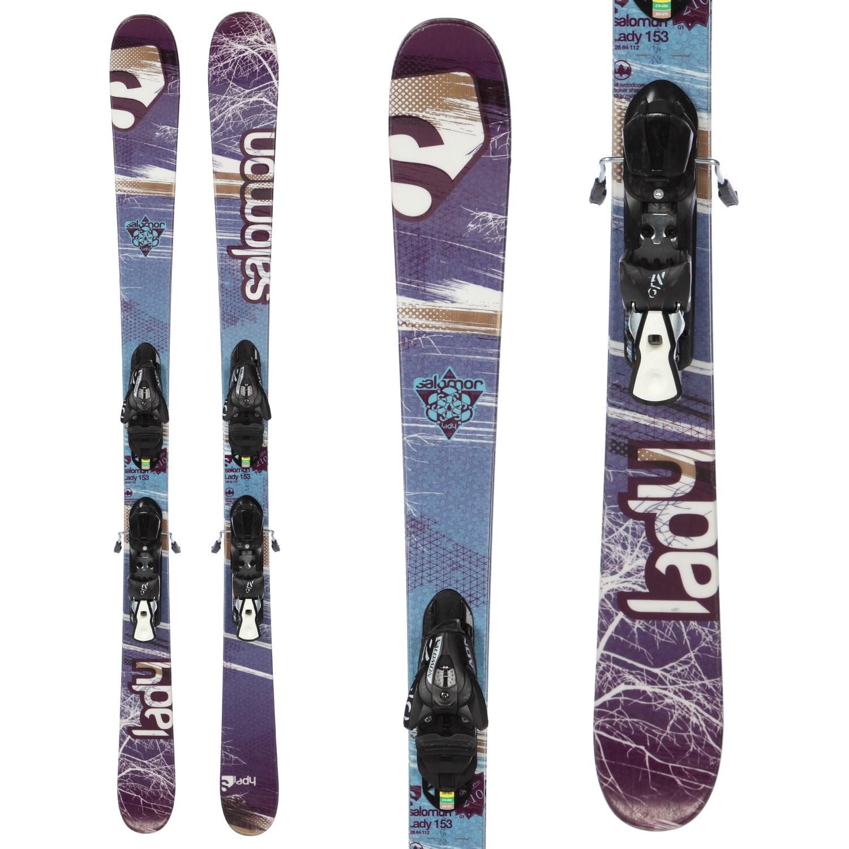 Salomon Lady Skis + Z10 Demo Bindings