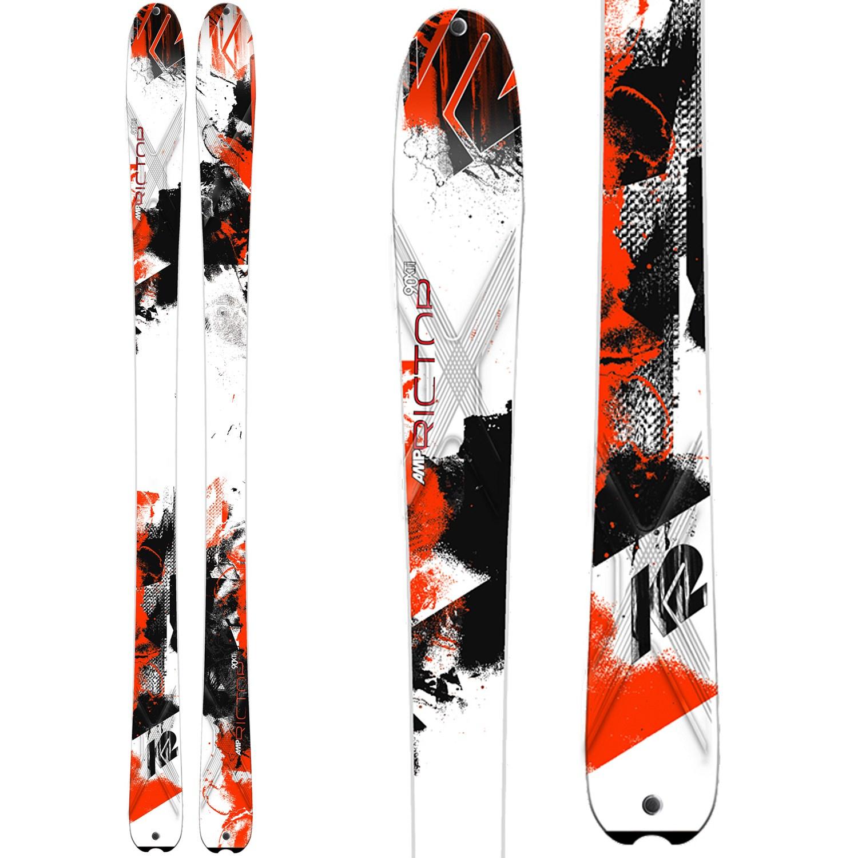 K2 AMP Rictor 90XTi Skis + Marker Griffon Ski Bindings