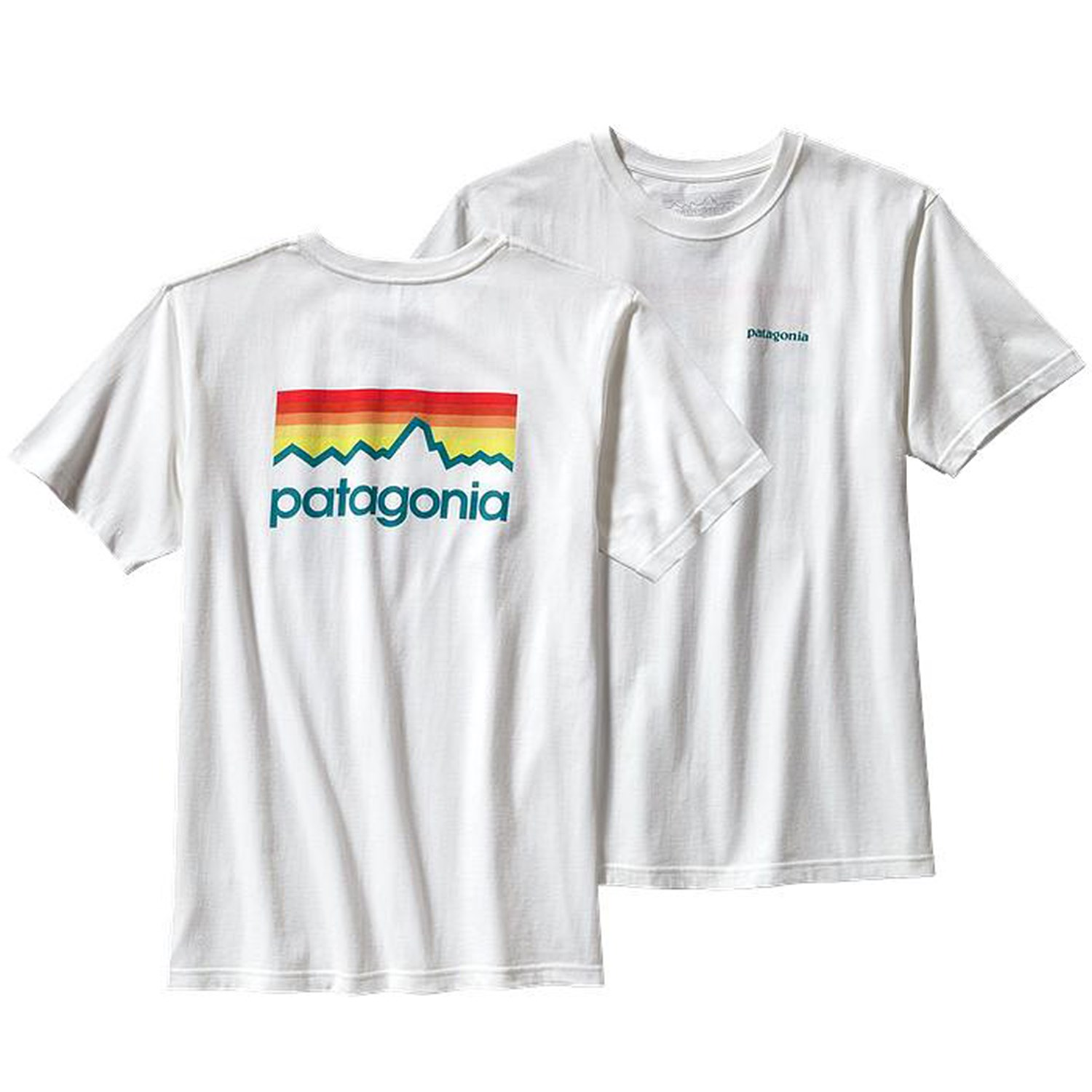 patagonia line logo cotton t shirt evo. Black Bedroom Furniture Sets. Home Design Ideas