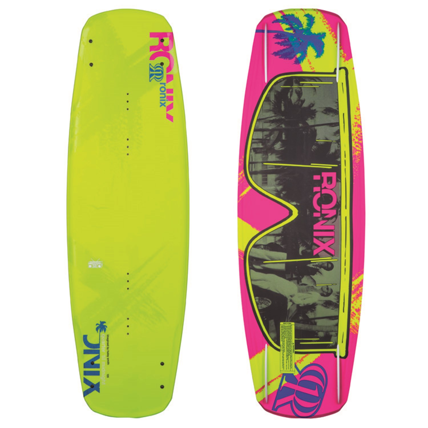 Ronix Quarter 'Til Midnight ATR Wakeboard + Halo Bindings