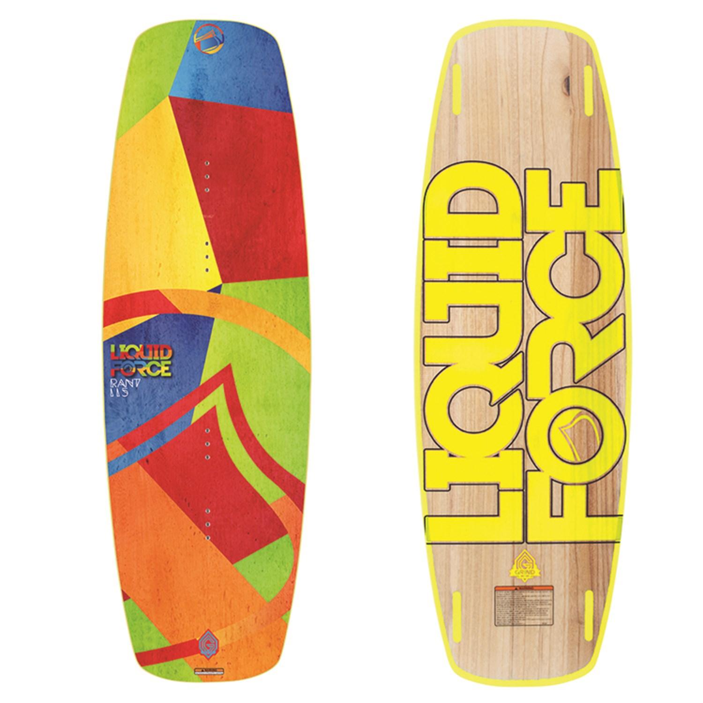 Liquid Force Rant Flex Wakeboard + Fury Wakeboard Bindings