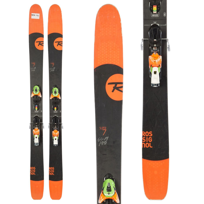 Rossignol Super 7 Skis + FFG 12 Demo Bindings