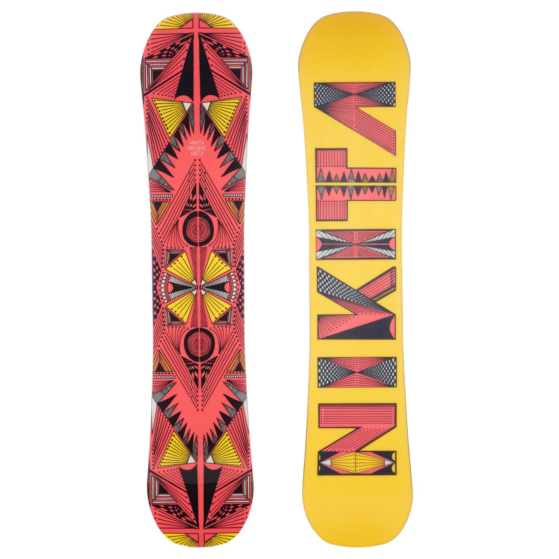 Nikita Sideway Sista Snowboard + Burton Stiletto Snowboard