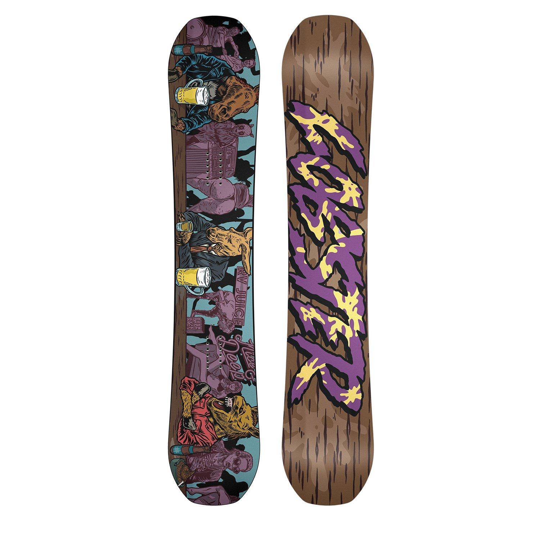 Lobster Freestyle Snowboard + Switchback Halldor Pro Model