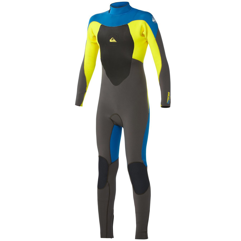 1a8c241a64 Quiksilver Syncro Wetsuit Men39s 43m GBS Wetsuit Back Zip The