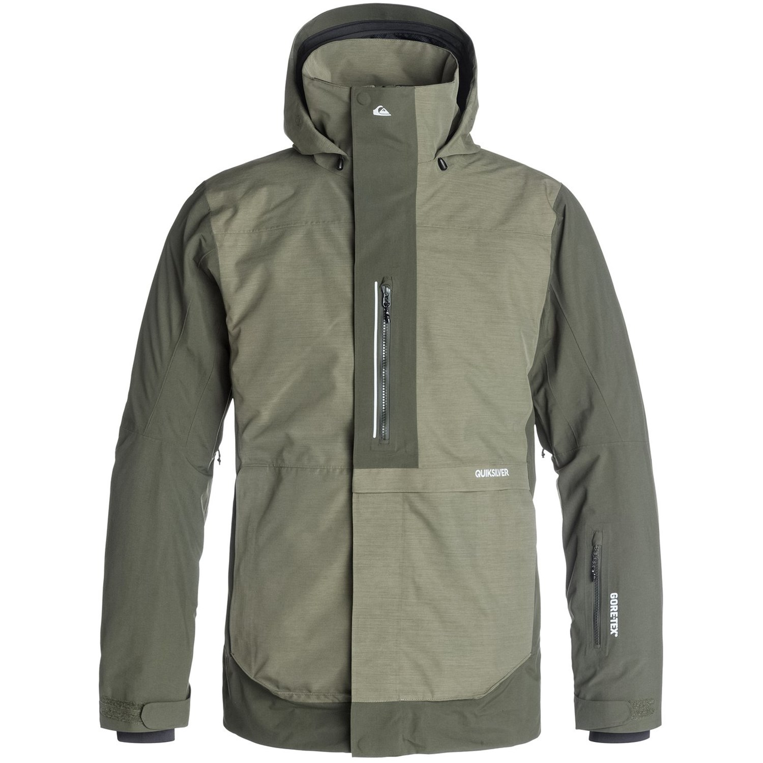 Exhibition Shell Jacket : Quiksilver tr exhibition l gore tex jacket evo