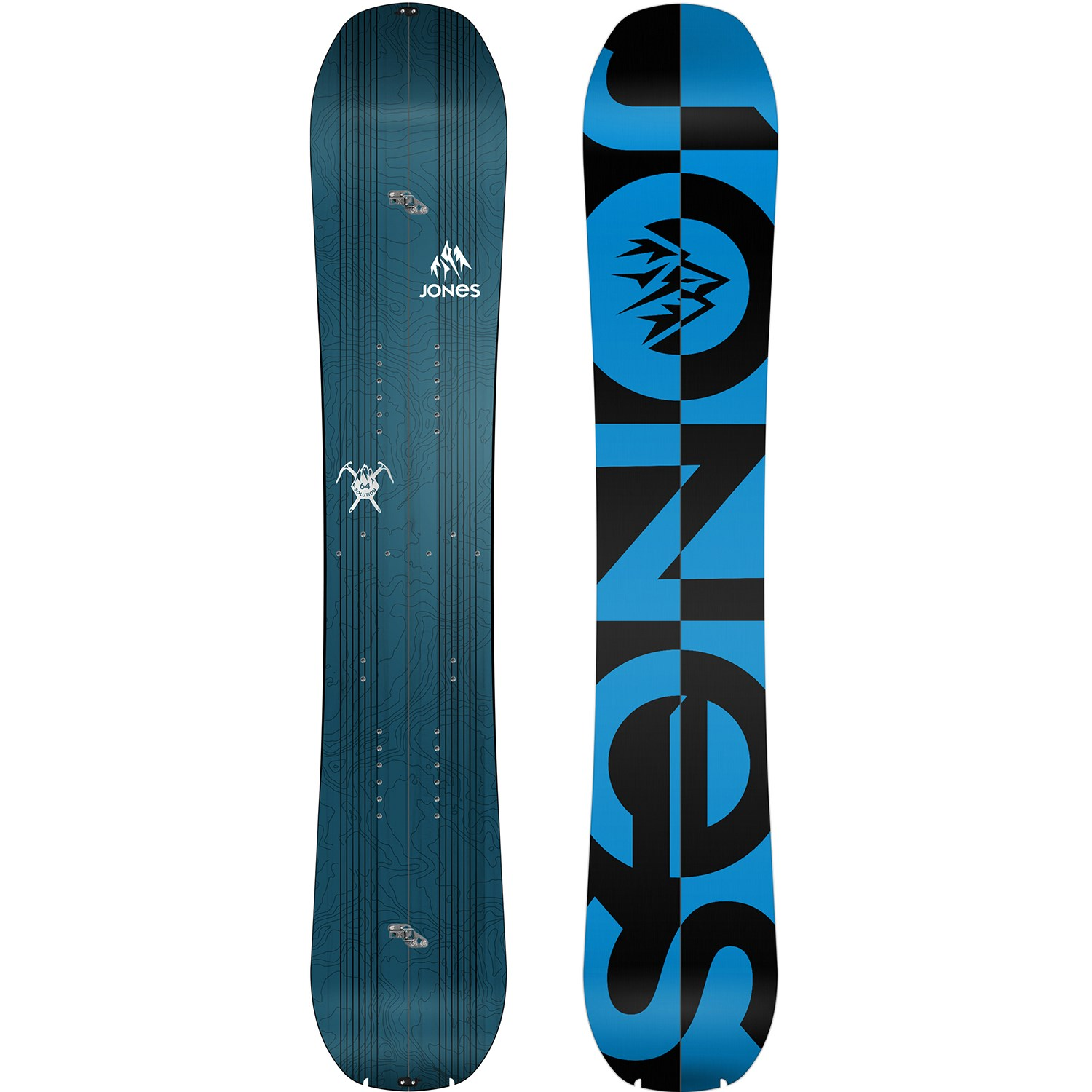 Jones Solution Splitboard 2016 + Spark R&D Splitboard ...
