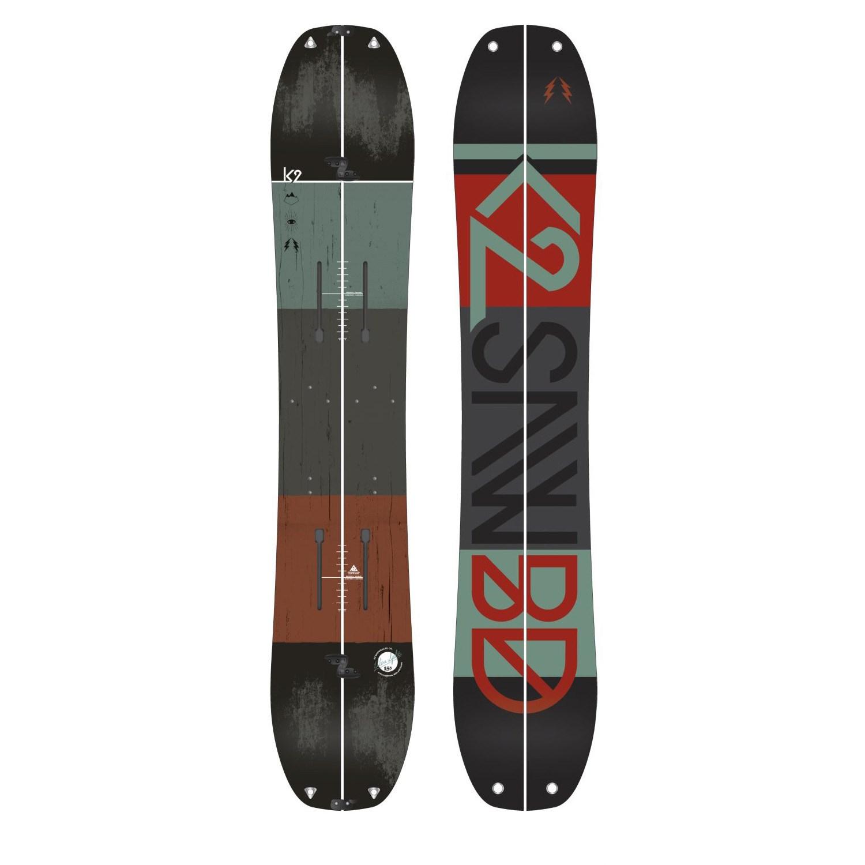 K2 Ultrasplit Splitboard 2016 + Spark R&D Splitboard ...