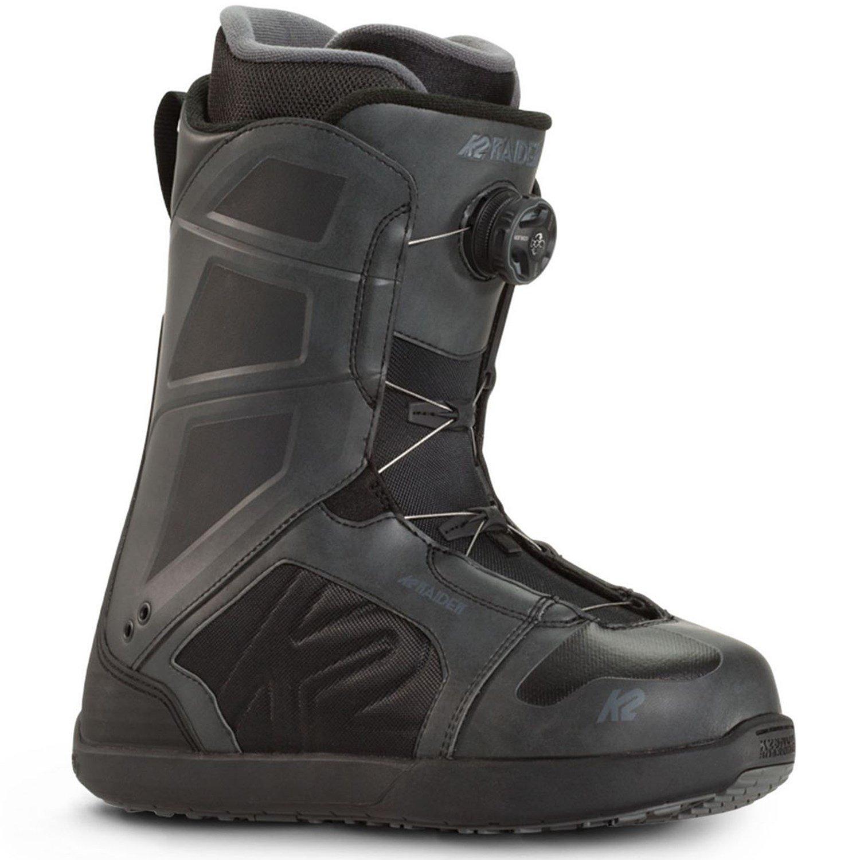 K2 Raider Snowboard Boots + K2 Sonic Snowboard Bindings