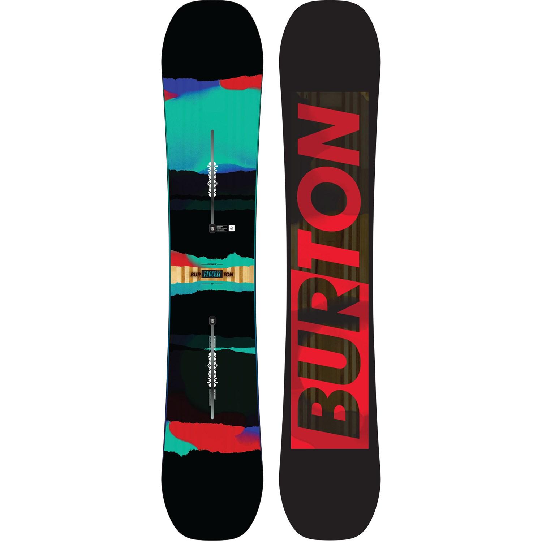 Burton Process Flying V Snowboard + Burton Mission EST ...