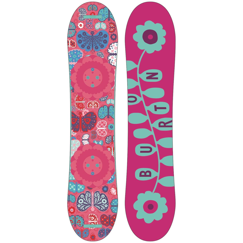 Girls' + Burton Grom Snowboard