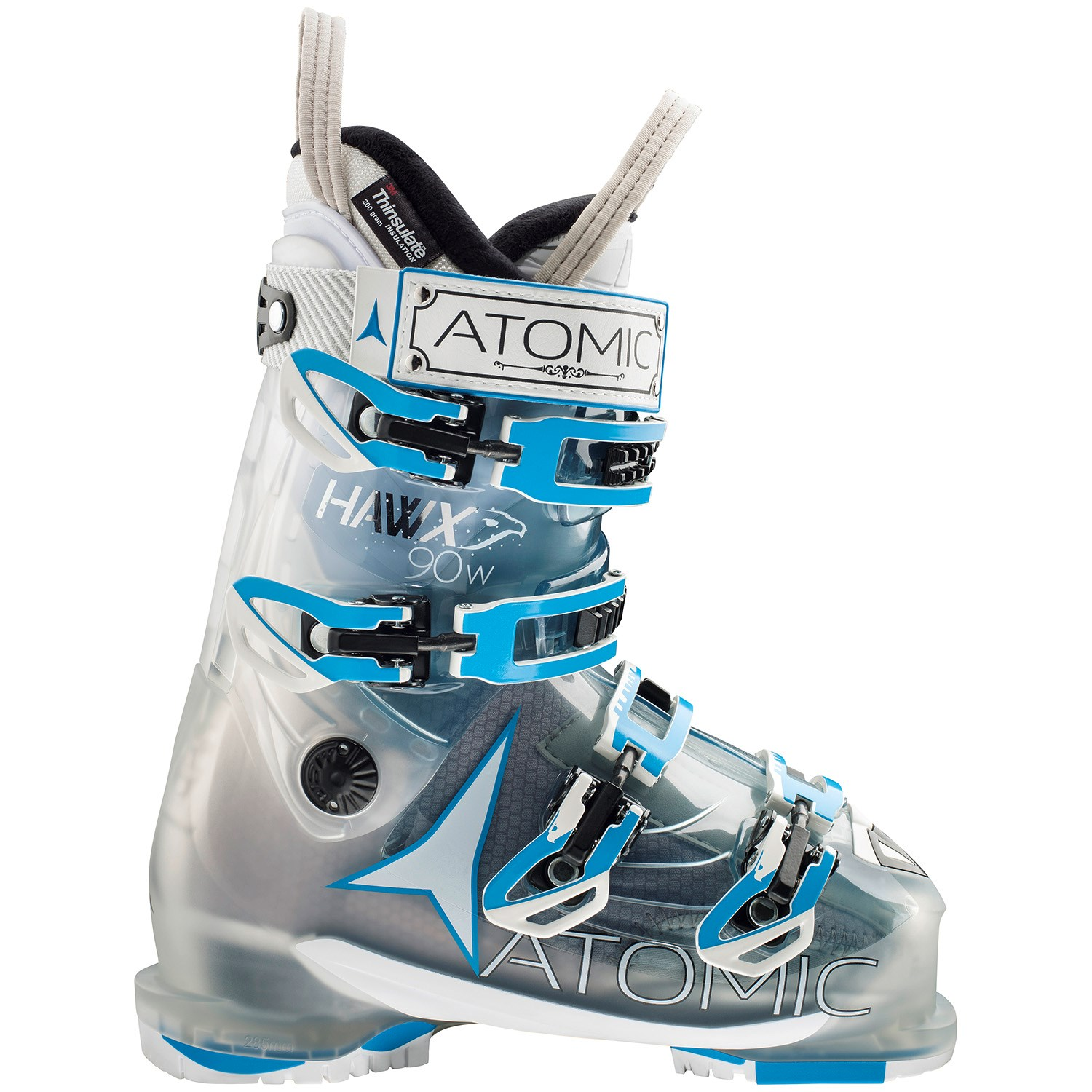 Salomon Cira Skis + Lithium 10 Bindings