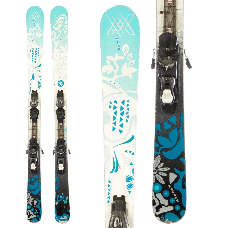 Volkl Kenja Skis + Atomic XTE 10 Demo Bindings