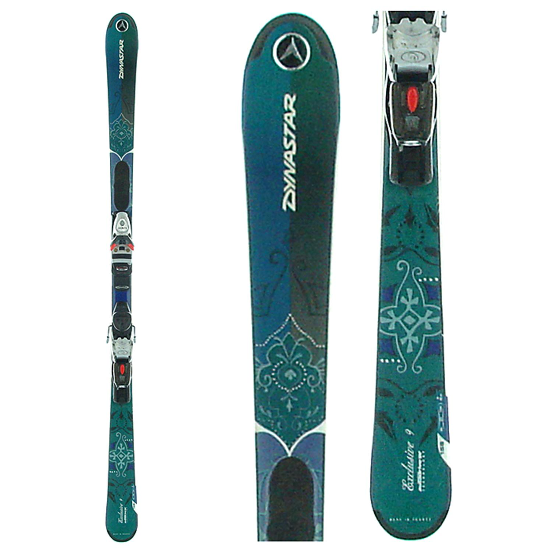 Dynastar Exclusive 9 Skis + Bindings