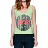 Glamour Kills Silent Recorders High/Low Crop Tank Top - Women's