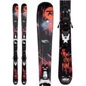 Rossignol Scimitar Jr Skis + Xelium Jr 70 Bindings - Youth - Boy's 2013