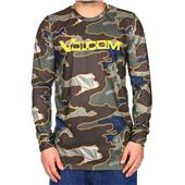 Volcom Stock Hunter Riding Crew Neck Baselayer Top
