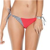 Volcom Optical Tropical Tie Side Skimpy Bikini Bottoms - Women's