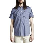 Makia Melange Short-Sleeve Button-Down Shirt