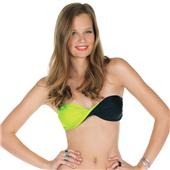 Volcom Simply Solid Twisted Bandeau Bikini Top - Women's