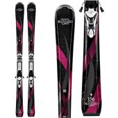 Blizzard Viva 7.6 IQ Skis + IQ TC 11 Bindings - Women's 2013