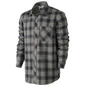 Nike Raleigh Plaid Flannel Button Down