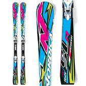 Nordica Dobermann SLR Power Skis + Comp 20 Bindings 2012