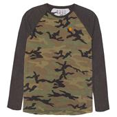 Billabong Camo Raglan Long-Sleeve Top