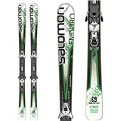 Salomon Enduro XT 800 Skis + Z12 Bindings 2014