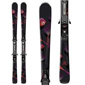 Salomon Lava Skis + L10 Bindings - Women's 2014