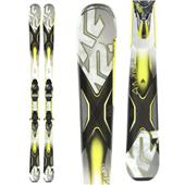 K2 AMP 80XTi Skis + MXC 12 TC Bindings 2014