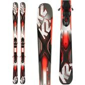 K2 AMP Rictor 82XTi Skis + MXC 12 Bindings 2014