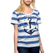 Glamour Kills The Union Girls Scoop Neck T-Shirt - Women's