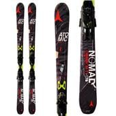 Atomic Crimson Ti Skis + XTO 14 Bindings 2014