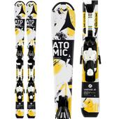Atomic Vantage Jr. II Skis + EZYTRACK 5 Bindings - Boy's 2014