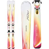 Volkl Chiara Skis + Essenza 4Motion 11.0 TC Bindings - Women's 2014
