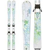Volkl Aurena Skis + Essenza 4Motion 10.0 Bindings - Women's 2014