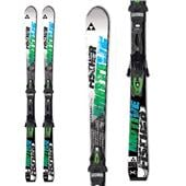 Fischer Motive X Skis + RS 10 Powerrail Bindings 2014