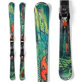 Nordica Fire Arrow 80 Skis + EXP 25 Demo Bindings - Used 2012
