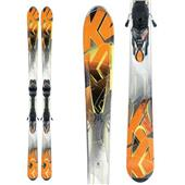 K2 A.M.P. Impact Skis + Marker MX 12.0 Demo Bindings - Used 2012