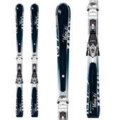 Blizzard Viva 8.1 Skis + Marker IQ Max 12 Demo Bindings - Used - Women's 2012